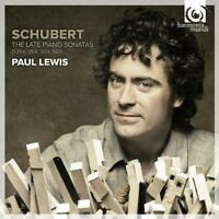 Paul Lewis - Schubert: The Late Piano Sonatas D784, 958, 959, 960 (NEW 2CD)
