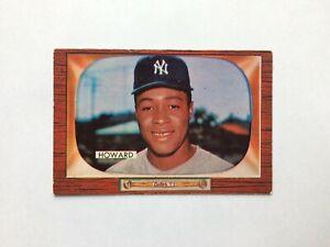 1955 Bowman #68 Elston Howard Rookie Card RC