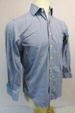 polo ralph lauren 16 32/33 mens long sleeve button down shirt regent classic fit