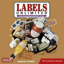 Labels Unlimited Create Stunning Results PC Windows XP Vista 7 32-Bit Sealed New