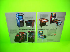 Williams 1983 Joust Sinistar 2-pg Pinball & Arcade Games Advertising Not A Flyer