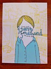 Franz Ferdinand 2004 Showbox Seattle Poster by Jesse LeDoux / Patent Pending