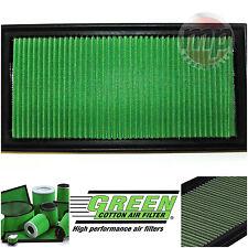 En Coton Vert Performance Panneau Voiture Filtre à air de remplacement pour s'adapter AUDI A3 (96-03)