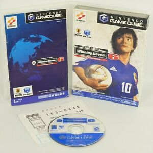 WINNING ELEVEN 6 Final Evolution Game Cube Nintendo For JP System 0186 gc