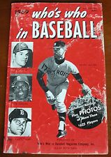 1969 Who's Who in Baseball - Paperback - Featuring Denny McLain - Detroit Tigers