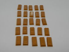 Lego Minifigure Lot Of 25 Pearl Gold Bars