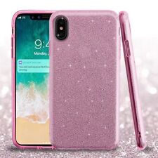 For Apple iPhone XS Max SHINE Hybrid Hard Case Rubber Phone Cover Accessory