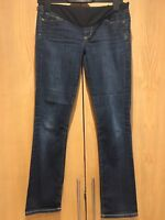 Citizens of Humanity Blue Maternity Skinny Jeans Size 26 (approx UK 8) Pregnancy