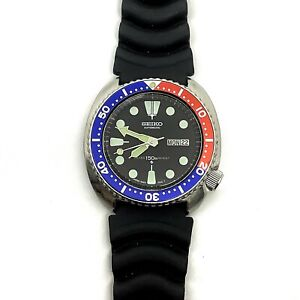 Large-sized Men's Seiko Diver's Automatic 6309-7040 17 Jewels