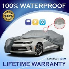 [CCT] 5 Layer Weather/Waterproof CUSTOM FIT Car Cover For Chevy Camaro 2010-2020