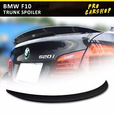 USA Stock Unpainted Trunk Spoiler Wing For BMW F10 High Kick Performance Type