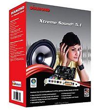 Xtreme Sound Virtual Speaker Shifter 5.1 PCI 16 Bit Sound Card for Windows 7 8.1