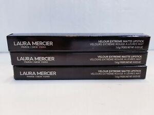 LOT OF 3: Laura Mercier Velour Extreme Matte Lipstick - Soiree - 1.4g