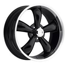 "18"" Vision 142 Legend 5 Black Machined Wheel 18x8.5 5x4.5 10mm Ford Jeep 5 Lug"