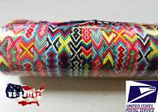 10 PCS (15inches) Handmade Woven Friendship Cords Strand Cuff Bracelet Wristband