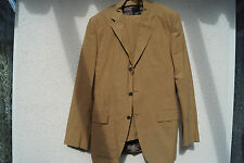 ESPRIT Collection Heren Business Anzug Sakko Blazer Jacke Hose Gr.98 hellbraun