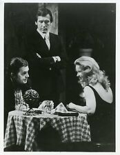 ANNE FRANCIS CHARLES AIDMAN DINNER WILD WORLD MYSTERY ORIGINAL 1974 ABC TV PHOTO