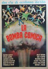 """""""LA BOMBA COMICA (ça c'est du cinéma)"""" Affiche originale italienne entoilée 1958"""