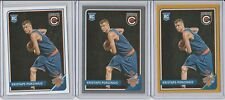 KRISTAPS PORZINGIS 2015-16 COMPLETE LOT (3) GOLD SILVER PARALLEL INSERT +BASE RC