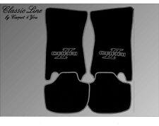 Ford Capri 2 Autoteppiche Fußmatten 74-77´ Grau,Autoteppich,Teppich,Fussmatten