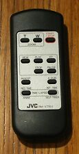 JVC RM-V715U wireless camcorder remote control