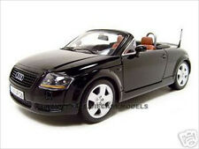AUDI TT ROADSTER BLACK 1:18 SCALE DIECAST MODEL CAR BY MAISTO 31878