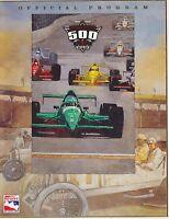 1999 INDY INDIANAPOLIS 500 car race program