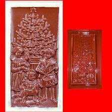 Schokoladenform -Gießform - Relief Weihnachtstafel
