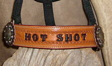Custom Personalized Horse Size Halter, Your  Horses Name, Award, Ranch... G&E