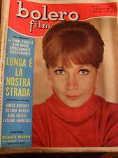 BOLERO FILM   RENATA MAURO   N° 809   NOVEMBRE 1962