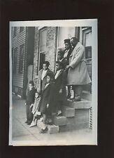 Original December 7 1947 Joe Walcott With Family Boxing Wire Photo