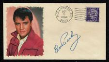 Elvis Presley Featured on Ltd Edition Collector's Envelope Repr Autograph *OP990
