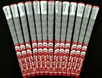 13x Golf Pride New Decade Multicompound Platinum Grips Standard Full Set Red