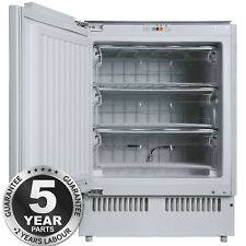 SIA RFU103 White Integrated 102 Litres Capacity Under Counter Freezer