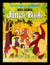 The Jungle Book Jumpin' - Framed 30 x 40 Official Print