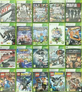Xbox 360 Games Choose One Game Or Bundle Up Same Day Dispatch