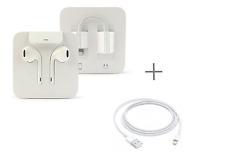 Genuine Apple EarPods Earphones Headphones for iPhone 7 & 7 Plus + jack Adapter