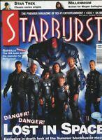 Starburst #235 March 1998 Lost In Space Godzilla Star Trek  unread MBX110