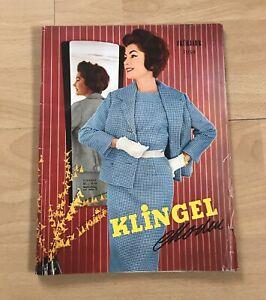 KLINGEL Moden Katalog Frühjahr 1959 Mode Bekleidung Damen Herren Geburtstag 60