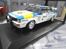 AUDI QUATTRO RALLYE taille 4 Suède 1982 Win #4 Blomqvist SANYO MINICHAMPS 1:18