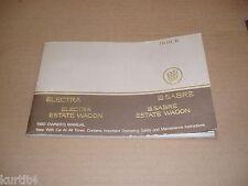 1980 Buick Electra LeSabre wagon owners manual ORIGINAL literature book guide