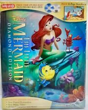 The Little Mermaid Diamond Edition Blu-Ray/ Dvd Storybook Target Digibook Rare