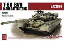 T-80BVD RUSSIAN M.B.T. (METAL BARRELS/P.E)  MODELCOLLECT 1/72