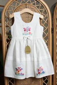 NEW Girls Toddler Childrens Kids 100% Cotton Summer Sun Party Dress 1yrs to 7yrs
