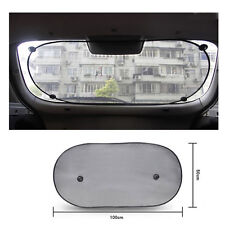 Black Sun Shade Shield Visor Protection Rear Back Car Window Shade Brand New