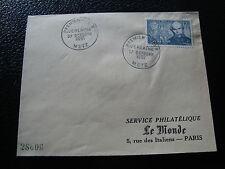 FRANCE - enveloppe 1er jour 27/10/1951 (verlaine) (cy50) french