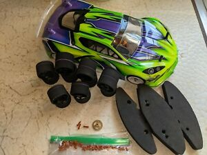 X-ray X12 1/12 RC Pan Car On-road Carpet Racer Roller GT w Extras