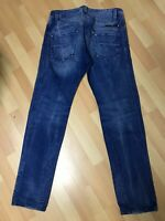 NWOT Mens Diesel DARRON RIPPED HARD Denim 0811V BLUE Slim W31 L32 H6.5 RRP£140