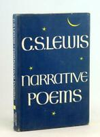 C S Lewis 1st Edition 1972 Narrative Poems Medieval Themes Hardcover w/DJ
