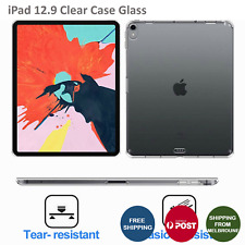 Slim HD Soft TPU Silicone Transparent Clear Case Cover For iPad Pro 12.9 In